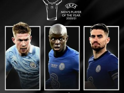 prize better player of the UEFA season